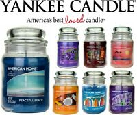 Yankee Candle Scented Fragrance Candles American Home Large 538g 19oz Glass Jar