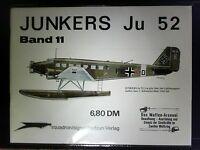 Waffen-Arsenal  Band 11  JUNKERS Ju 52  in Schutzhülle