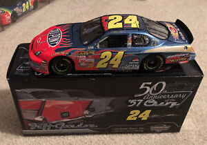 #24 JEFF GORDON DUPONT 57 CHEVY ANNIVERSARY 2007 1/24 DEALERS NEW