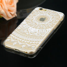 Rubber Soft TPU Silicone Phone Back Case Cover for New Apple iPhone 5 6s 7 Plus