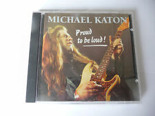 """MICHAEL KATON"""" PROUD TO BE LOVED- CD Provogue 1993"""""""