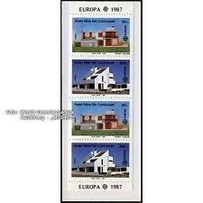 Türkisch Zypern: Briefmarken Europa CEPT 1987 **, MH 1, Auflage 100.000 Stück