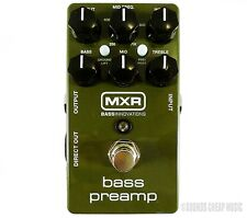 New! MXR M81 Bass Preamp Pedal - Free USA 48 2 Day Shipping!