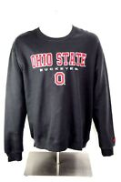 Colosseum Athletics Mens XL Ohio State Buckeyes Sweatshirt Gray Cotton Crew