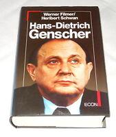 Hans-Dietrich Genscher - Biografie - SIGNIERT - Buch - Filmer / Schwan