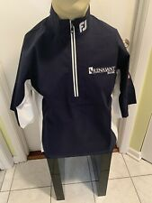 Footjoy Hydrolite Rain Shirt 1/2 Zip Navy Blue Small Titleist PGA Golf New