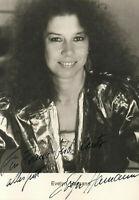 Autogramm - Evelyn Hamann