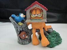 "Classic Garfield Figurine ""Open House"" by Jim Davis Danbury Mint w CO & Box"