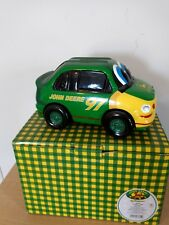 JOHN DEERE KIDS ENESCO JD RACER CAR BANK GREEN 685348 NEW IN BOX 97