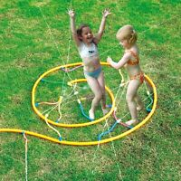 Sprinkler Noodle Track Garden Water Toy Summer Outdoor Fun Hose Jump Circle NEW