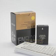 EN-EL20 Rechargeable Battery for Nikon Coolpix A J1 J2 J3 S1 AW1 MH-27 charger