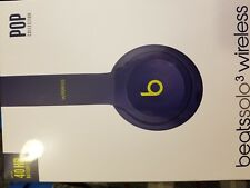 Beats Solo3 Wireless Headphones - Pop Indigo - BRAND NEW SEALED - MSRP $300