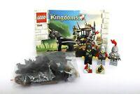 Lego Castle Kingdoms Set 7949-1 Prison Carriage Rescue 100% complete+instuctions