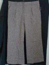 Wide Leg Wool Tailored Trousers for Women