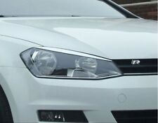 VW Golf MK7 2012 + GTI GTD Golf R headlight eyebrows/eyelids