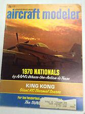 Aircraft Modeler Magazine 1970 Nationals Aam King Kong December 1970 041517nonrh