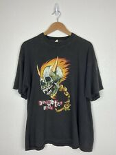 Vintage 1995 Donington European Metal T-shirt Metallica Slayer White Zombie XL