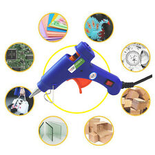 20W Professional Mini Electric Heating Temperature Hot Melt Glue Gun +30 Sticks