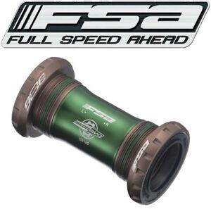 FSA MegaEvo BB386EVO English Threaded Bottom Bracket bb Bike fits 68mm & 73mm
