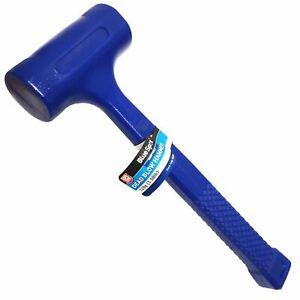 BlueSpot Dead Blow Hammer Rubber Head Mallet Garage Mechanics Camping 720g 1LB
