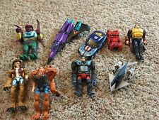Mixed Transformers Lot (Animorphs, G2, RID, Pretender, Parts)
