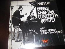 Prevue Brooks Kerr-Paul Quinichette Quarter with Gene Ramey & Sam Woodyard LP
