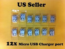 12X Samsung Galaxy S Showcase SCH-I500 USB Charger Charging Connector Dock Port