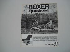 advertising Pubblicità 1970 PIAGGIO BOXER