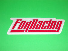 FOX RACING MOTOCROSS MOTORCYCLE ATV QUAD WAKEBOARD SNOWBOARD RED STICKER DECAL