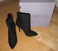 New Jennifer Lopez Vaquera Black Fashion Boots 6 M *Sharp Must C*