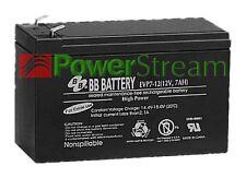 PowerStream EVP7-12-T2 Genuine Sealed Lead Acid BB-Battery