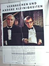WOODY ALLEN: CRIMES & MISDEMEANORS German1-sh Martin Landau Mia Farrow Alan Alda
