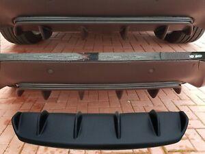 BMW X6 E71 E72 diffuser rear bumper spoiler lip diffuser in structure