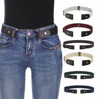 Ceintures élastiques sans boucles pour femmes Ceintures invisibles pour jeans