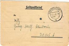 *Feldpost II. WK - 1942 * von Geesthacht (31)