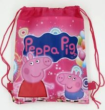 PEPPA PIG GEORGE DRAWSTRING LIBRARY SCHOOL SWIM KINDER BOOK BAG BIRTHDAY LOLLY