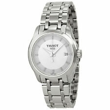 Stainless Steel Band Tissot Couturier Women's Adult Watches