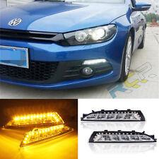 LED Daytime Running Light For VW Scirocco DRL 2008 2009 2010 2011 2012 2013 2014