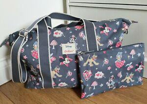 Cath Kidston Disney Mickey Mouse & Friends Travel Bag Overnight Handbag