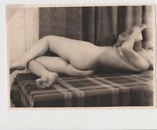 Vintage Erotic Photo Original. Size 4.5 on 3.5 inches. Real 30's-40's
