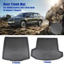 5 & 7 Seats Rear Trunk Boot Liner Cargo Mat Floor Carpet For SKODA Kodiaq 17-19