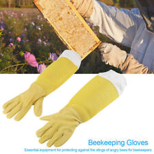 Beekeeping Gloves Goatskin Bee Keeping With Vented Beekeeper Long GlovesTEUS_KV