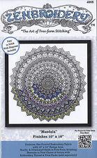 "Embroidery Kit ~ Design Works Zenbroidery ""Mandala"" #DW4008"