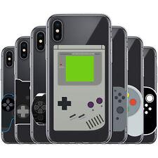 Dessana Consola de Juegos TPU Funda Protectora Silicona Carcasa para Móvil Apple