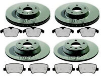 FORD S-MAX FRONT AND REAR BRAKE DISCS & PADS ELECTRIC HANDBRAKE