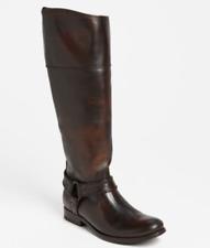 Frye Melissa Harness Dark Brown Women's Boot 14452 Size 7 M (Extended Calf)