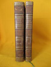 NOTICES SUR LES COLONIES FRANCAISES EDITION DE 1837 EN 3 PARTIES ED.ORIGINAL
