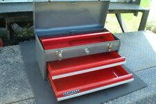 Vintage 1975 Craftsman 2 Drawer Mechanics Tool Box Tool Chest 65336 Made in USA