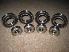 "Lot of 8 Quarter Midget Bearings (4) 1 1/4"" Sealed Rear Axle & (4) 5/8"" Front"