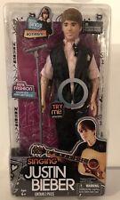 Justin Bieber Singing Boyfriend Doll Microphone Stand (Pink Shirt) Hard To Find